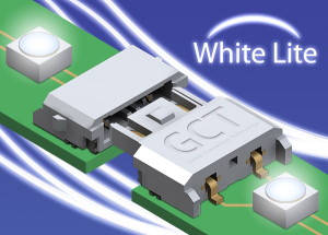 Looking for connectors for LED strips? GCT's White Lite range is perfect
