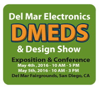 GCT exhibiting at Del Mar Electronics and Design Show 2016