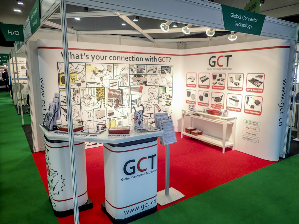 GCT at the Electronics Design Show