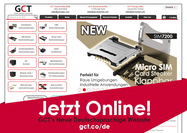 Sprechen Sie Deutsch? GCT's German Website Now Live