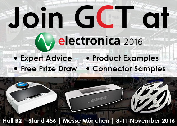 GCT at Electronica 2016 Munich