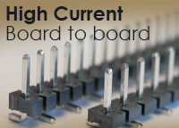 High Current Board To Board Connectors from GCT