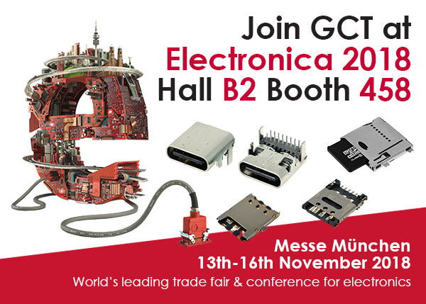 Join GCT at Electronica Munich 2018