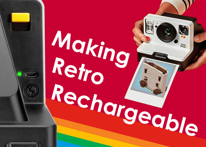 GCT Makes Retro Rechargeable