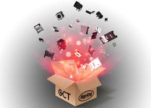 GCT-Steckverbinder jetzt über Digi-Key Elektronics erhältlich