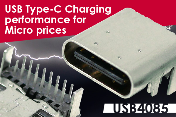 USB4085 USB Type-C Charging Connector