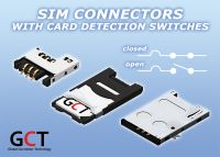 SIM Card Connector with Card Detection Switch