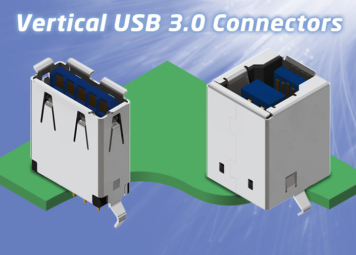 USB3 Vertical Connectors