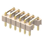 U-Shaped double insulator PCB connector