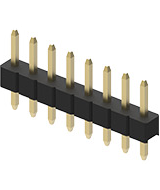Connector pitch 2.54mm