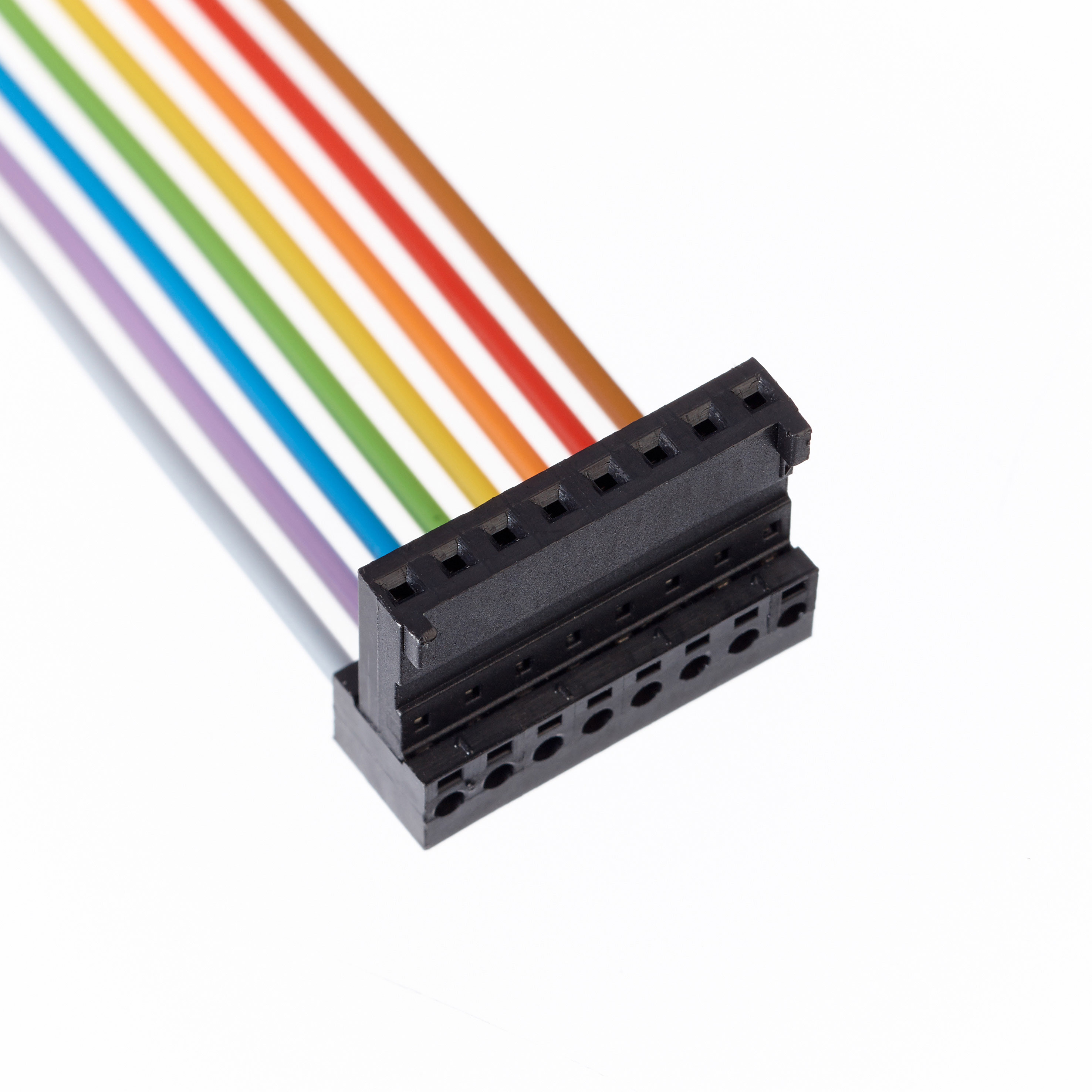 Ribbon Cable Assemblies : Idc cable assembly gct