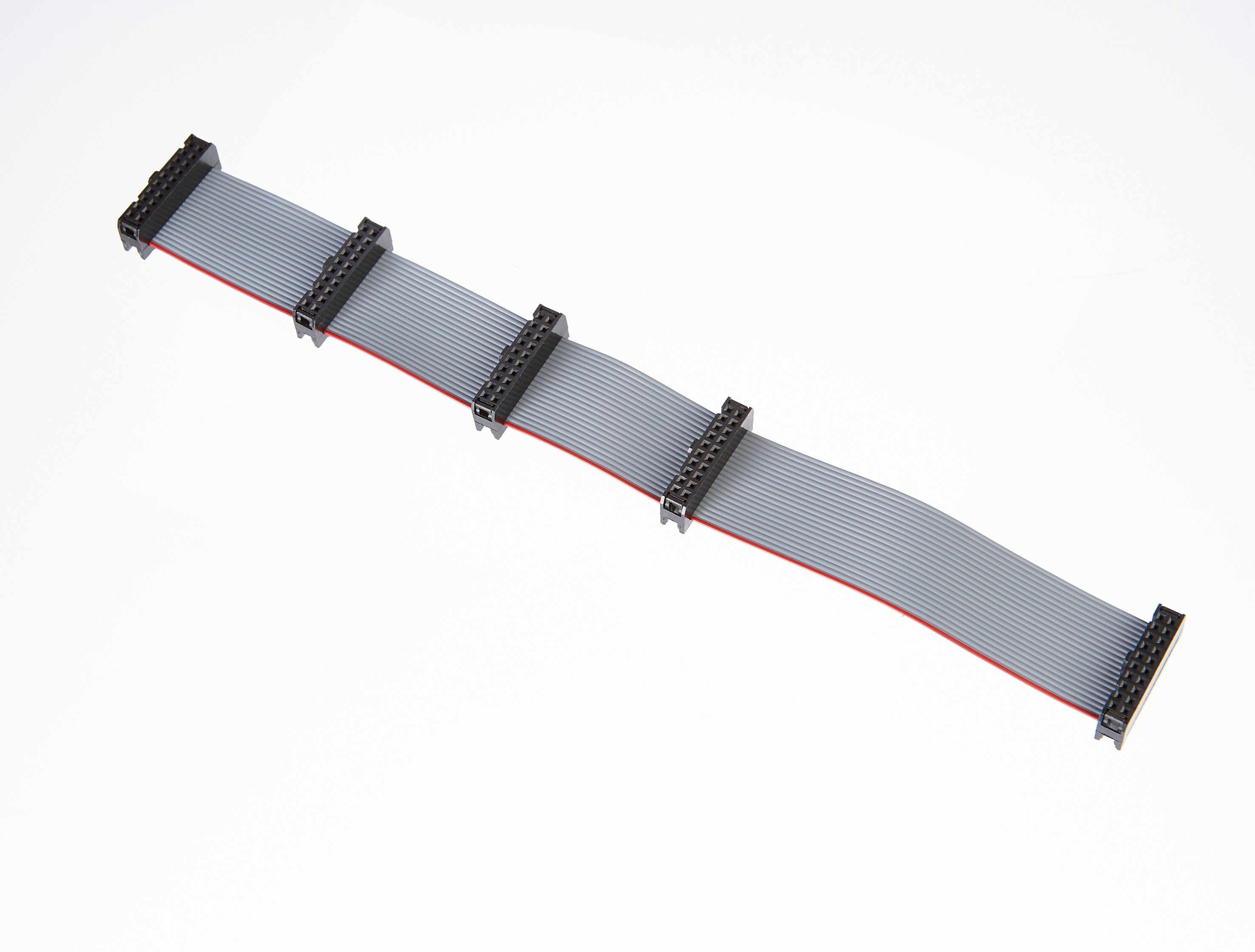 Custom Flat Cable Assemblies : Idc cable assembly gct