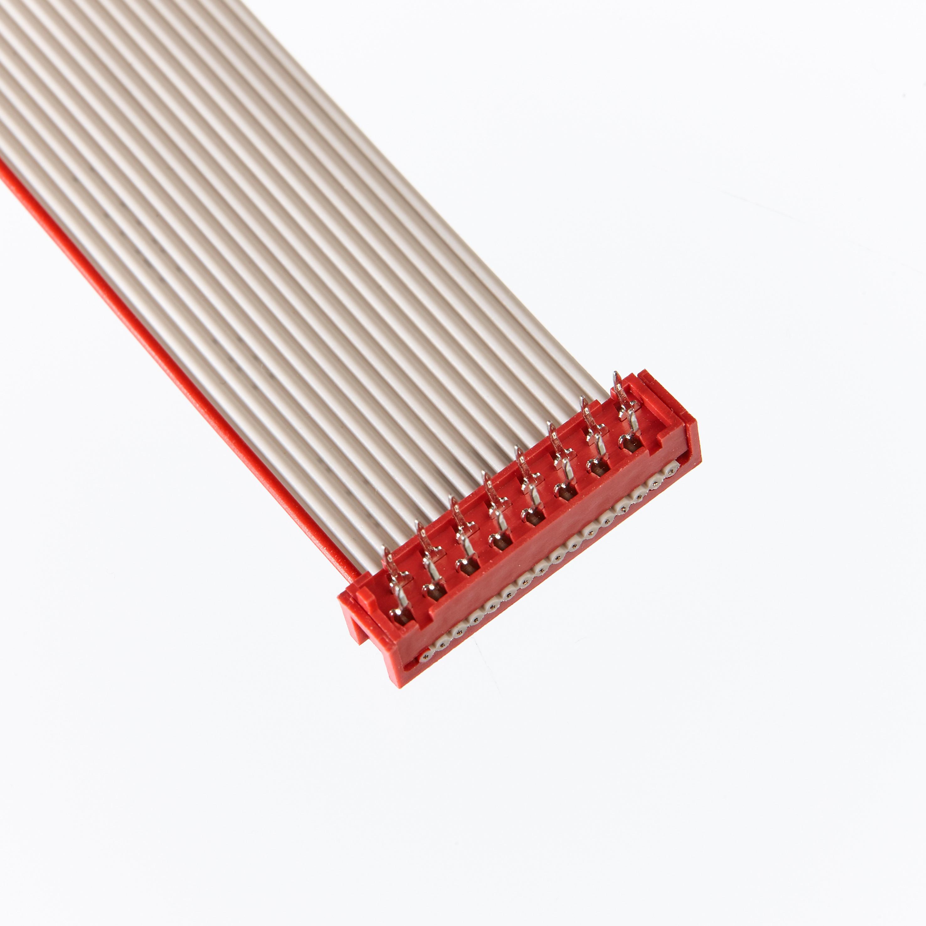 20Pcs 2.54 mm pitch 2x12 PIN 24 Broches Mâle Tête FD IDC Cable Transition Connecteur