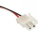 MiniFit cable plug 2 way cable assembly