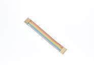 Rainbow ribbon crimp assembly