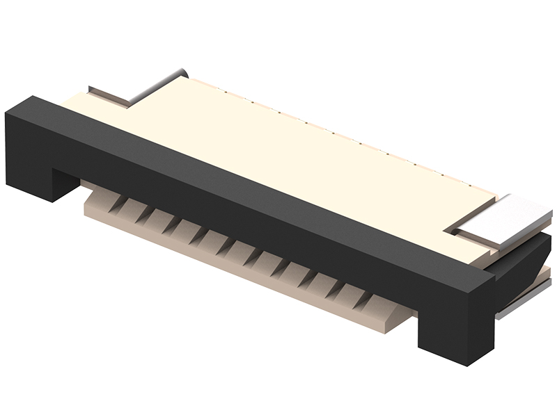 FFC3B05 - Flat Flexible Cable Connector 1 0mm pitch Side
