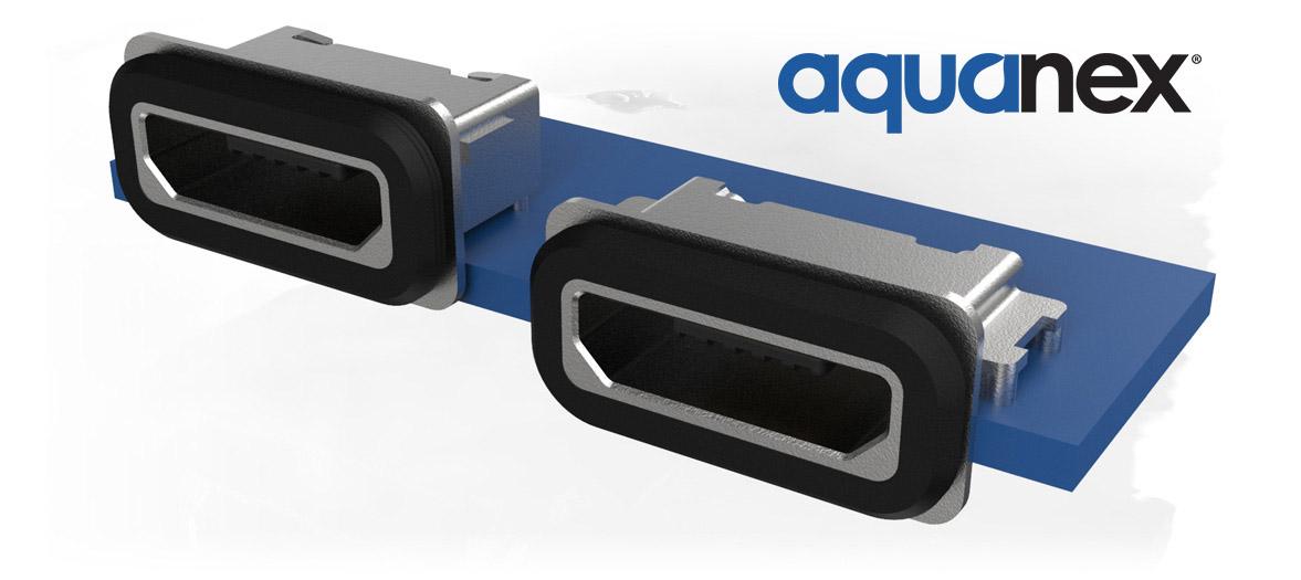 Waterproof Micro USB connectors
